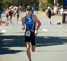 Kingscliff Triathlon 2011 Finish line B6268 by Gavin Lardner