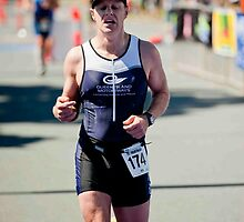 Kingscliff Triathlon 2011 Finish line B6275 by Gavin Lardner