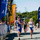 Kingscliff Triathlon 2011 Finish line B6277 by Gavin Lardner