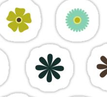 flower stickers Sticker