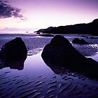 Coombesgate Beach, North Devon, England by Craig Joiner