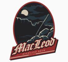 Highland Brew Sticker by monochromefrog