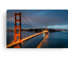 """Chrysopylae"" - Golden Gate Canvas Print"