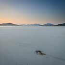 Deserted Beach, Seilebost, Harris by Christopher Thomson