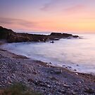 Peach Dusk at Daisy Rock II by Christopher Thomson