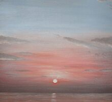'Burnham Sunset 2' by Dawn Jones Art