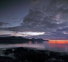 September sunset by Frank Olsen