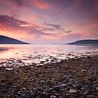 Dusk over Loch Broom II by Christopher Thomson