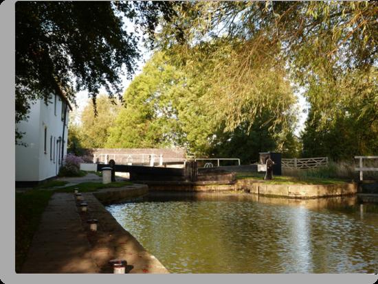 Evening at Gringley Lock by John Dunbar
