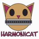 Harmonicat by Amy Huxtable