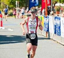 Kingscliff Triathlon 2011 Finish line B6359 by Gavin Lardner