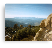 From The Top of The Pinnacles Canvas Print