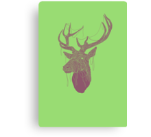 The Deer Head Canvas Print