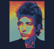 Bob Dylan Psychedelic by Jonathan  Hagstrom