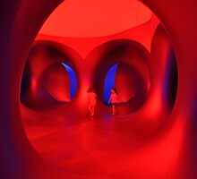 The Colour Red - Amococo Luminarium. by Simon Bannatyne