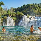 Skradinski Buk Waterfall by Philip Kearney