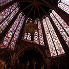 Inside Sainte Chapelle by LadyThegn