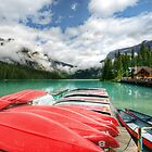 Emerald Lake by Thomas Plessis