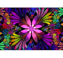 Floral Explosion Photographic Print