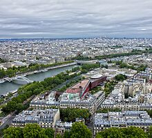 Paris from the tower by Philip Kearney