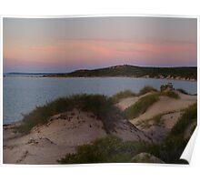 Monkey Mia Western Australia, Sunrise over the Dunes Poster