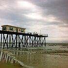 fishing pier by Phlite