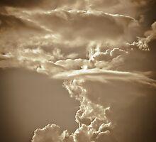 Sepia Clouds by Ken Baugh