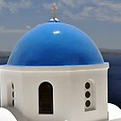 Church in Santorini. by FER737NG