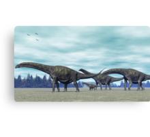 Argentinosaurus Canvas Print