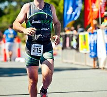 Kingscliff Triathlon 2011 finish line B6377 by Gavin Lardner