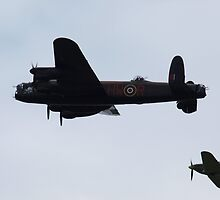 Lancaster and escort by kalaryder