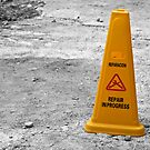 Yellow cone. by FER737NG