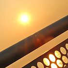 Sun through Railings by Jamie O'Mara