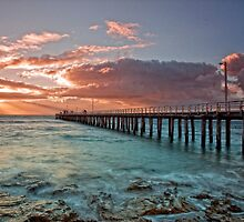 Point Lonsdale Pier @ Sunrise by Krishna Gopalakrishna