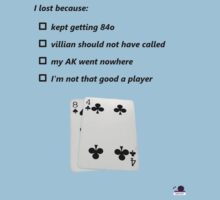 Poker Excuses by Will Watson