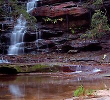 Somersby Falls by Scott Mclaren