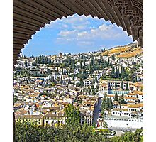 Granada from the Alhambra Photographic Print