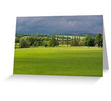Chatsworth View Greeting Card