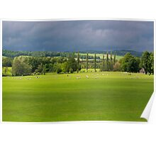 Chatsworth View Poster