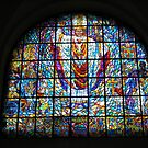 Church stained glass window by machka