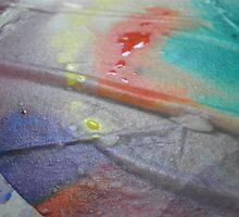 Reflective Surfaces Art IV by FeeBeeDee
