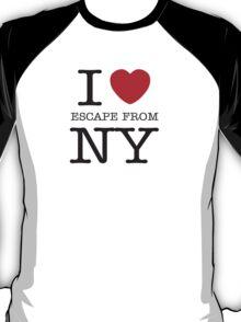 I HEART SNAKE! (Escape from New York Shirt) T-Shirt
