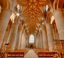 Tewkesbury Abbey HDR by Stephen Knowles