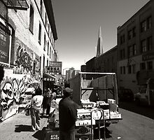 Streets of San Francisco by zumi