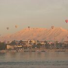 Hot air balloons at dawn by jmccabephoto