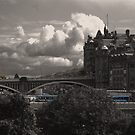 The North Bridge in Edinburgh  by Kevin Meldrum
