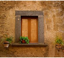 Etruscan Window, Italy by Rob Bannister