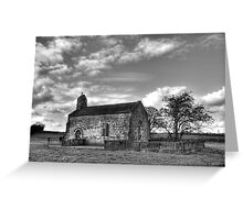 St Mary's Chapel, Lead Greeting Card