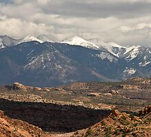 The La Salle Mountains by Gregory J Summers