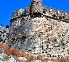 Fortetza: Venetian fortress in Rethymno, Crete. by FER737NG